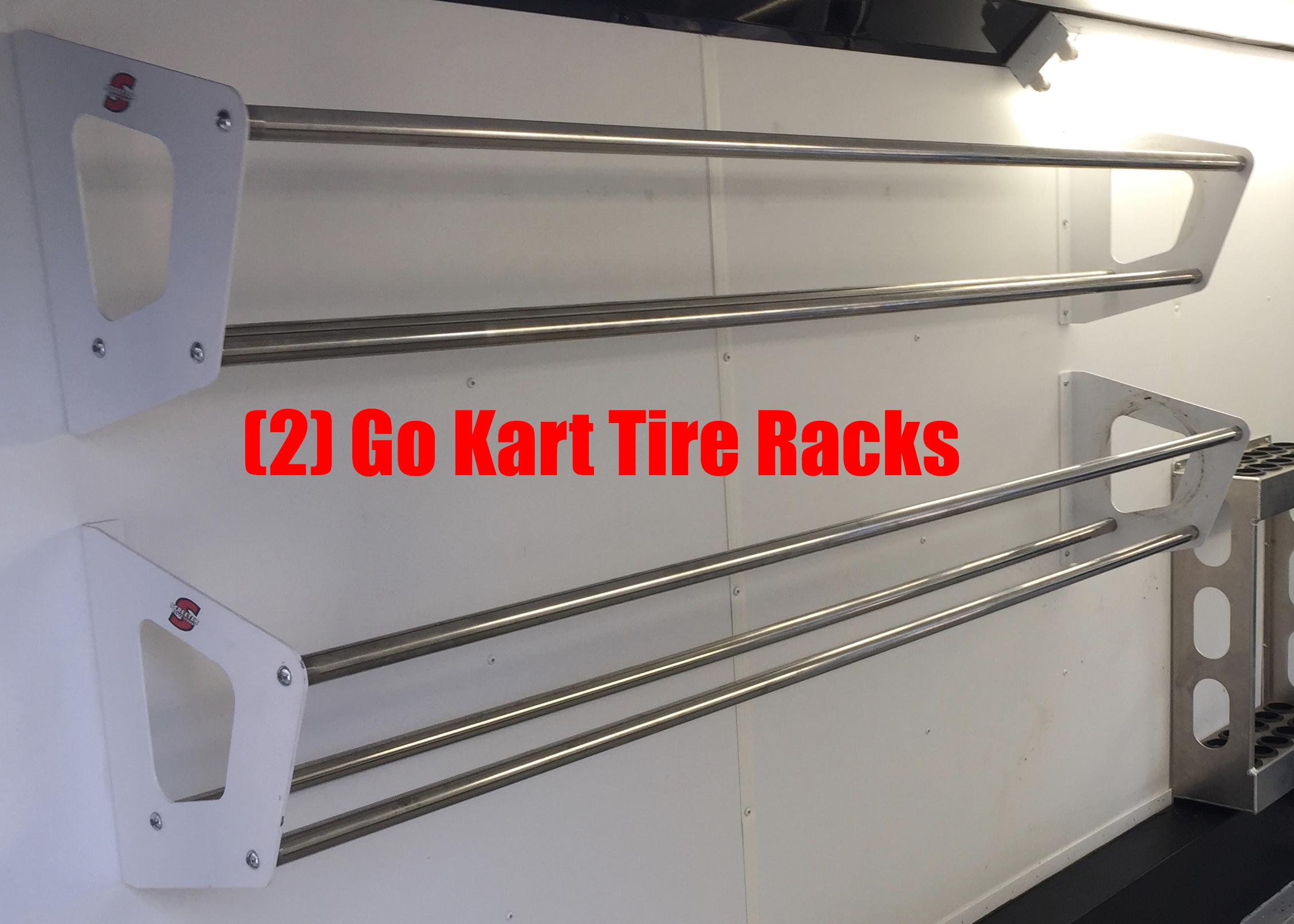 Go Kart Trailer Racks Tire Fuel Axle Lubricant Amp Work